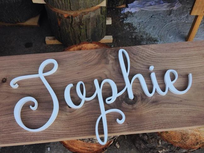 Sophie Laser cut